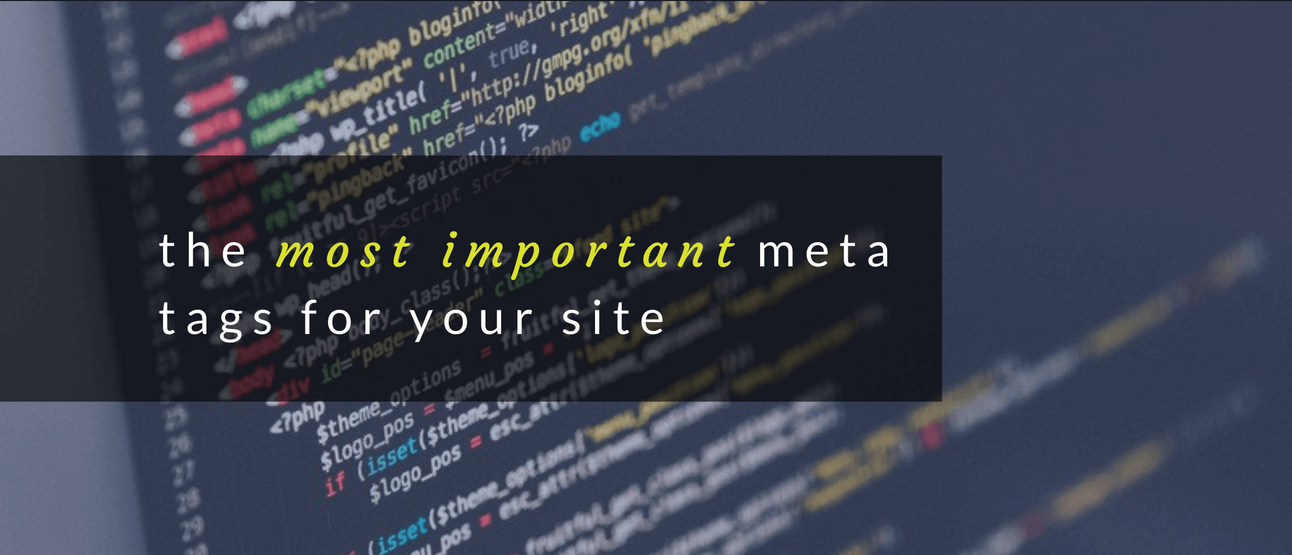 Importance of Meta Tags